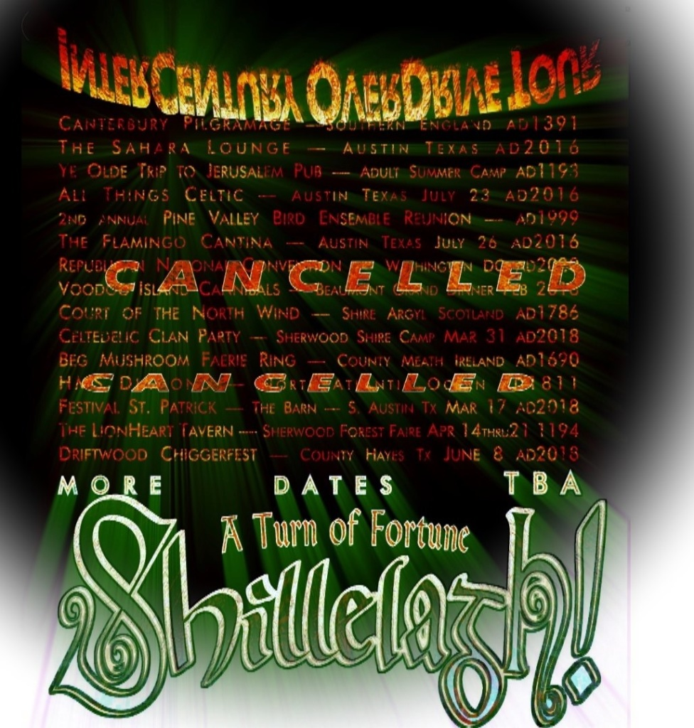 Texas Celtedelic Music from Shillelagh!